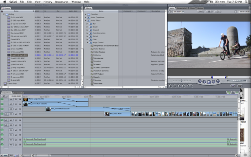 Working on the France edit and it's coming together nicely but slowly having to sort through all the hundreds of footage!