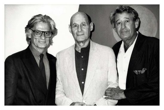 Richard Avedon, Irving Penn, and Helmut Newton. New York, 1983.