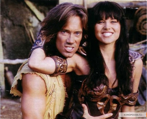 elennasharny:  Xena and Hercules