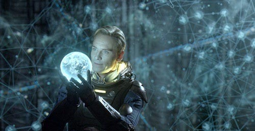 "Two new TV spots for Prometheus: watch now Prometheus has released a pair of new TV spots, in which a little more is revealed of what Noomi Rapace and her team discover on their spacebound mission of discovery.The new spots are largely made up of footage we've already seen, but there are a couple more glimpses of the creatures blithely referred to by Rapace as ""engineers"", including something with a worrying number of tentacles…"