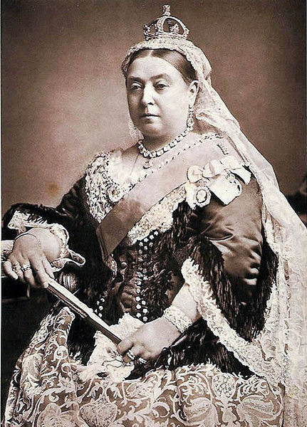 Queen Victoria of United Kingdom was born Today in History: May 24, 1819 Queen Victoria was born in Kensington Palace in London on May 24th, 1819.  She was the daughter of Edward, the Duke of Kent and Princess Victoria of Saxe-Coburg. Queen Victoria is associated with Britain's great age of industrial expansion, economic progress and, especially, empire. At her death, it was said, Britain had a worldwide empire on which the sun never set. Read More