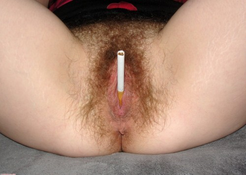 vagina-power:   I've been told my pussy is smoking LOL Hugs and Kisses Hairy Jazmin  submitted by hairyjazmin Thanks!