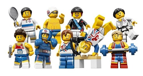 shevonne:  LEGO Releases Team Of Athletes, For London 2012 Olympics