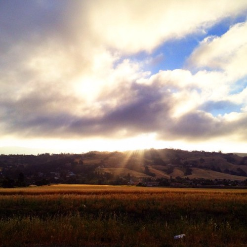 A beautiful morning in Morgan Hill (Taken with Instagram at Morgan Hill)