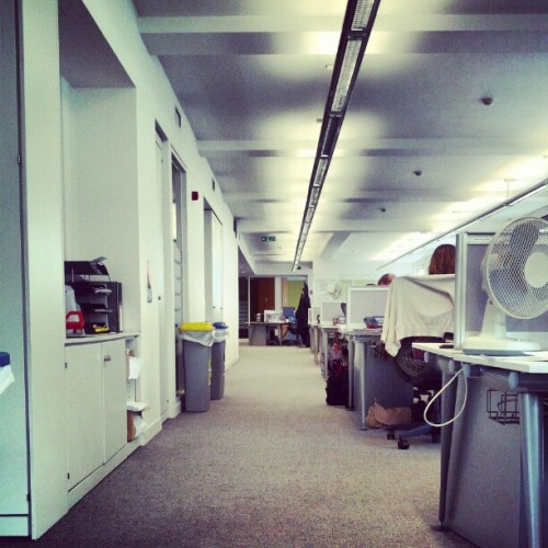 Office space #london #working  (Taken with instagram)