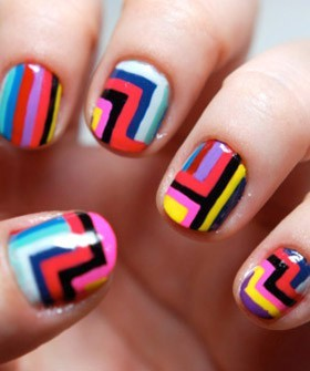 This Summer, nails are funky and brightly coloured.