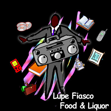Lupe's Fiasco's Food & Liquor by Lupe Fiasco. Original. Requested by azureoceans.