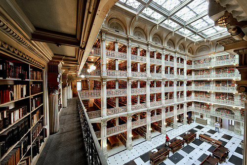 Peabody Library (by integrity_of_light)