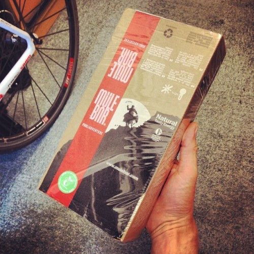 Today's delivery from @wigglebikeshop. 1. Mule Bars! (Taken with instagram)