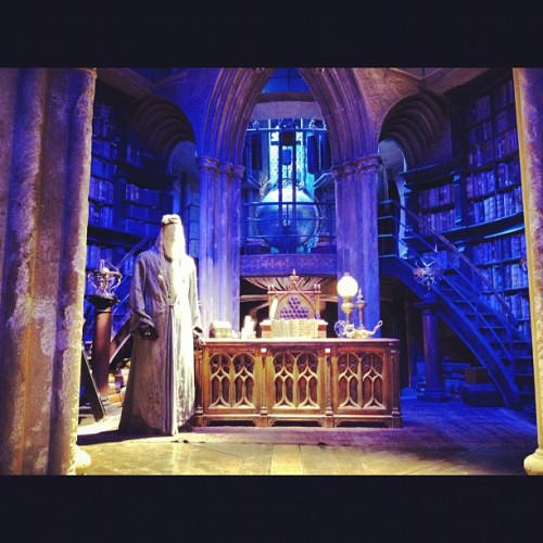 Dumbledore's office! (Taken with instagram)