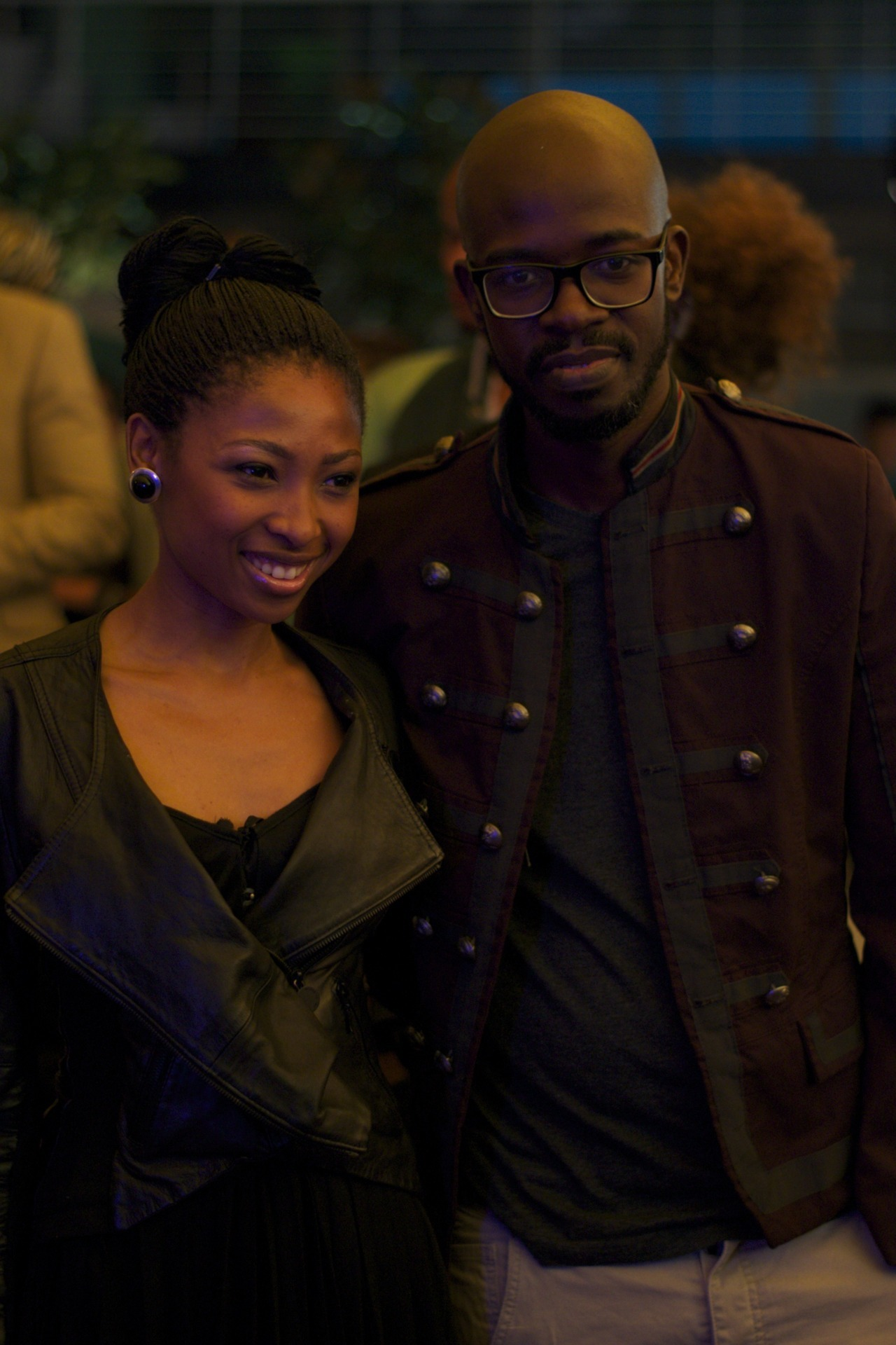 Black Coffee and his wife Mbali x GodsKidBrother