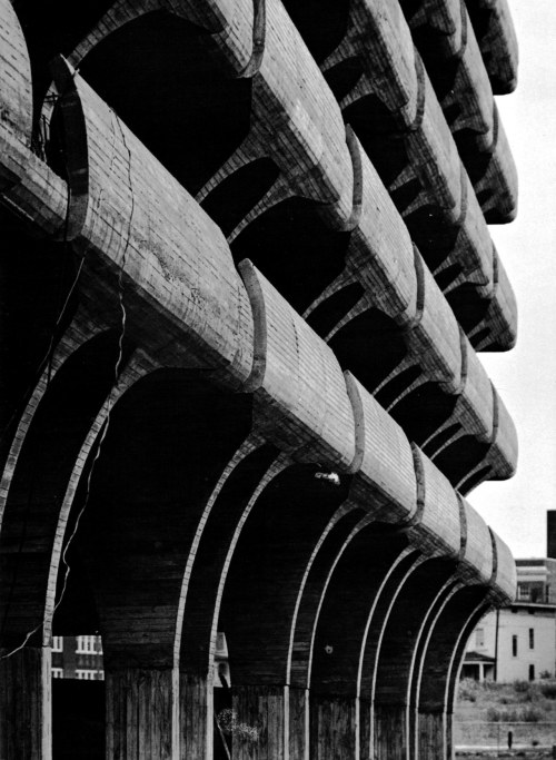 fuckyeahbrutalism:  Parking Garage for the City of New Haven, Connecticut, 1959-63 (Paul Rudolph)