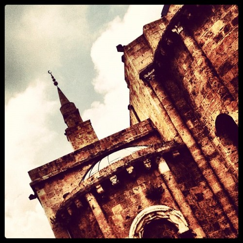 #lebanon #beirut #old #architecture #iphone4  (Taken with Instagram at Down town)