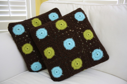 Granny Squares Pillows