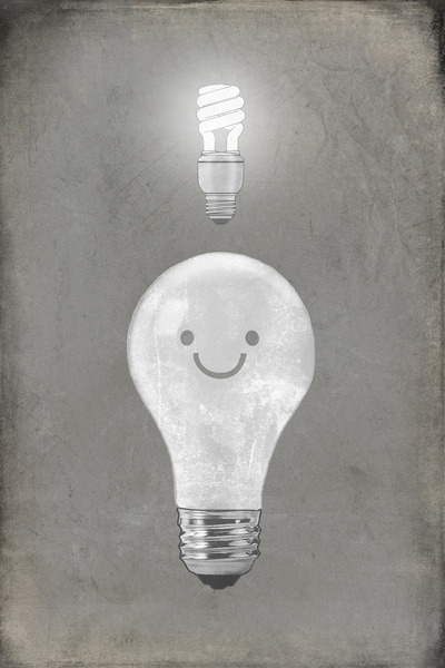 Bright Idea by Terry Fan on Society6.
