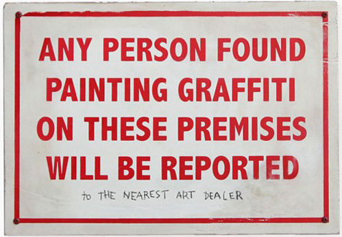 steveoatney:  Graffiti Warning —  Via nevver: More