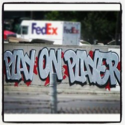 #graff #bomb #graffiti #playonplayer #art #AerosolArt #LA  (Taken with instagram)