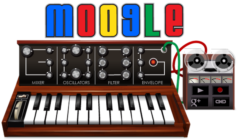 "MOOG-le Doodle Today's Google doodle celebrates what would have been the 78th birthday of Bob Moog, the father of electronic music. His Moog synthesizer grew out of his theramin manufacturing company (who would have thought those wouldn't take off?) and changed music forever. Yes, without Moog, there would be no Skrillex. Shocking. He started from a background in hard science, holding two bachelor's degrees and a PhD in engineering physics. But he was able to apply his knowledge to his creativity, building tools for musicians worldwide to draw inspiration from. He took simple relationships of voltage and frequency (and the invention of a little thing called the transistor) and painted entirely new landscapes of sound. You can play the Moog Google synth (hint: use your keyboard), and even record a four-track song! I hope you didn't want to get anything done today. Little known fact: Moog said his name was pronounced ""moh-g"", not ""moo-g"". I'm sure that correction will stick with everyone."
