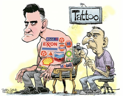 "Daryl Cagle, ""Walking Billboard""© Cagle Cartoons 2012 More cartoons"