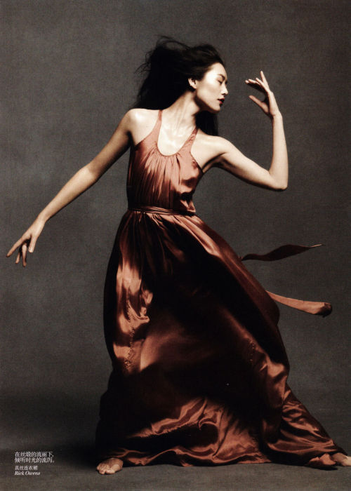 """Dancing in the Soul"" (+) Vogue China, May 2012 photographer: Daniel Jackson  Liu Wen"