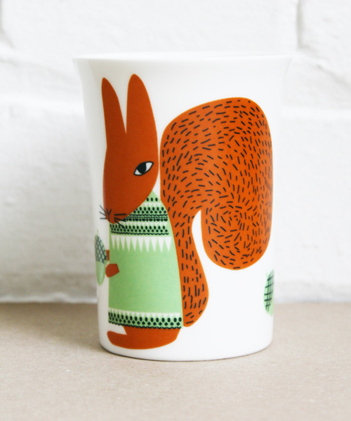 Squirrel Tumbler by @DonnaWilsonLtd available from @lazyoaf