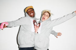 terrysdiary:  Tyler The Creator and Lucas at my studio #24