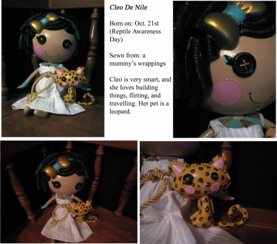 philips-vintage-girl:  Custom Lalaloopsy doll I painted.