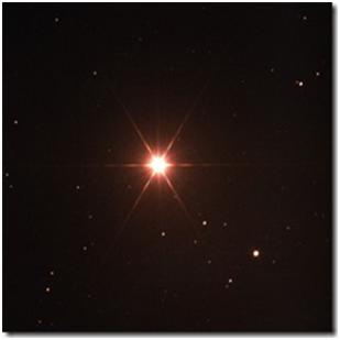 Rigel Kentaurus, also known as Alpha Centauri, is the third brightest star in the sky. Its name literally means foot of the centaur. It is actually a triple star system made up of Alpha Centauri A, Alpha Centauri B, and Alpha Centauri C (also known as Proxima Centauri because it is the closet star to earth at 4.3 light years). Rigel Kentaurus is located in the constellation Centaurus.