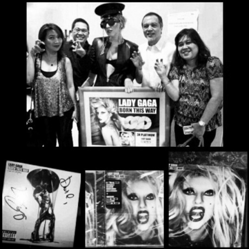 I can't believe it's been a year already. #BornThisWayWasBornThisDay #3xPlatinum #Philippines #BTW #BornThisWay  (Taken with instagram)