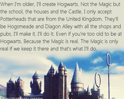 harrypotterconfessions:  Submitted using Harry Potter Confessions Templates  What the fuck are you TALKING about? The magic is only real if we keep it there? o.O