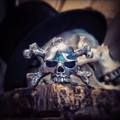 Skull & Crossbones Pendant as worn by #Slash (Taken with Instagram at The Great Frog)