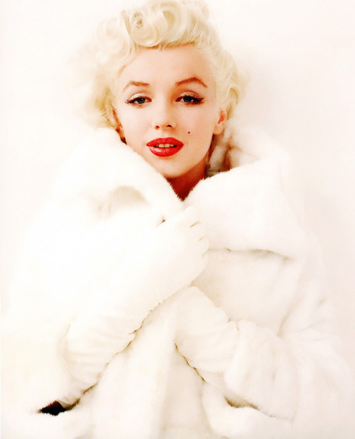 Marilyn Monroe photographed by Milton Greene, 1955