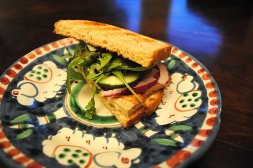Lunch: The Tofu Sandwich You Never Knew You Loved