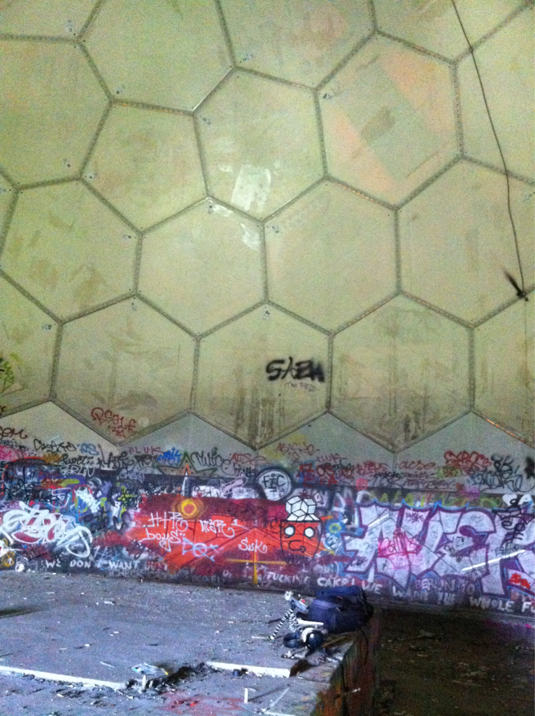 Teufelsberg Field Recording Session Done #SoundDesign