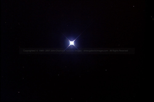 Achernar is the ninth brightest star. It is a bluish-white white supergiant star that is about 69 light years from Earth. Its name is from the Arabic meaning end of the river, in this case, the river being Eridanus. Achernar is in the constellation Eridanus.