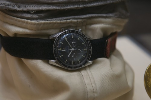 Omega Watch Museum NASA astronaut Richard F. Gordon's Speedmaster Professional, which was used during the Apollo XII mission.