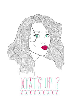 Drawing/Photoshop ⨻ What's Up ? ⨻