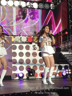 KARA. Korean Wave In Google. 5/21/2012 - Shoreline Amphitheater - Mountain View, California. Taken on my iPhone.