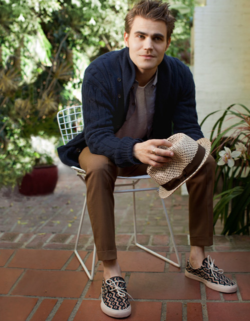 Paul Wesley by Doug Inglish || Mr Porter