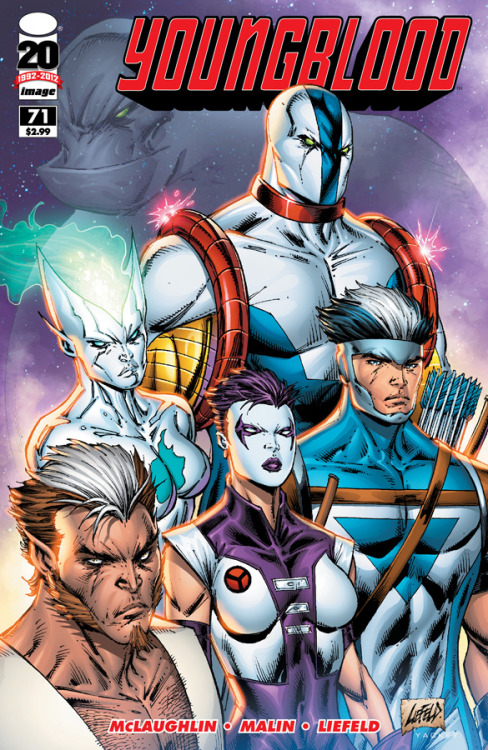 YOUNGBLOOD creator Rob Liefeld talks about the series' relaunch at Comic Book Resources! YOUNGBLOOD #71 is in stores today.