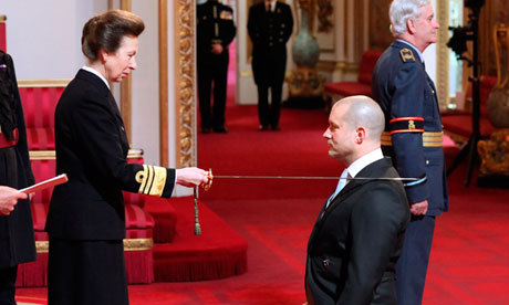 laughingsquid:  Apple Designer Jonathan Ive Receives Knighthood   and well deserved
