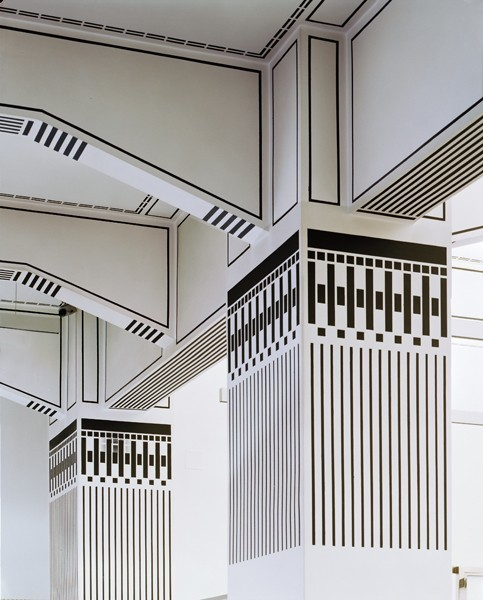 bleistift-und-radiergummi:  Otto Wagner - Post Office Savings Bank Building in Vienna.