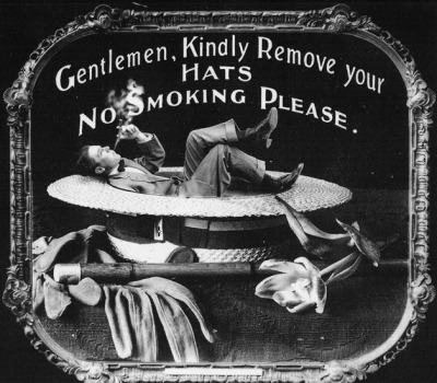 maudelynn:  Another 1910s Movie etiquette glass slide I adore these and have several :D