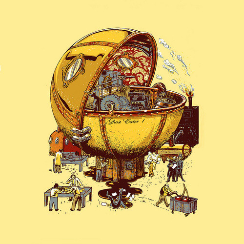 steam punk Pac-Man