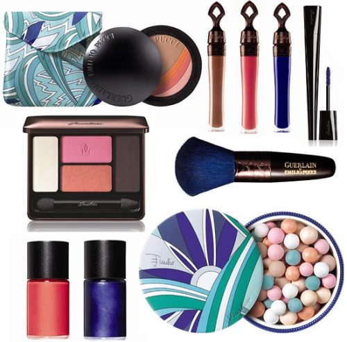 Guerlain by Emilio Pucci: Terra Azzurra Make-up collection