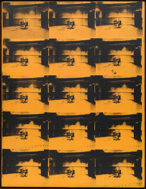 imparolarte:  Andy Warhol, Orange Disaster #5, 1963