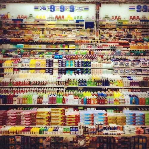 My pucture of Andreas Gursky's picture… Never do his iconic works justice. (Taken with Instagram at Gagosian HK)