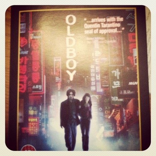 after years of saying so i finally purchased Oldboy. Now maybe a print (Taken with instagram)