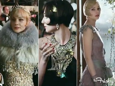 "All The Lovely Looks From ""The Great Gatsby"" Trailer - The Frisky"