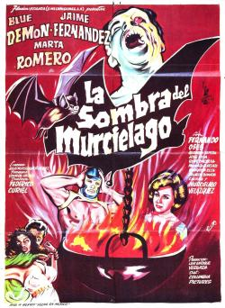 jdkickdrum:  The Shadow of the Bat (La sombra del murciélago) (1968, Mexico)